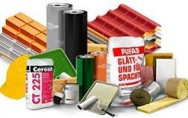 Будівельні та оздоблювальні матеріали