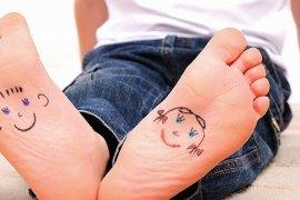 Зарядка от плоскостопия у детей