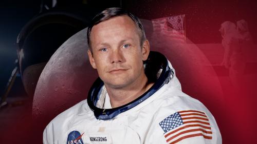 Ніл Армстронг - перша людина на Місяці