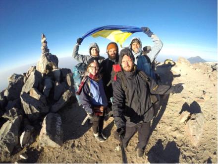 Подорож на згаслий вулкан Тахумулько висотою 4220 м. Найвища точка Гватемали і Центральної Америки.