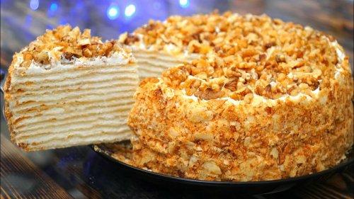 """Торт """"Наполеон"""" лучшие рецепты"""
