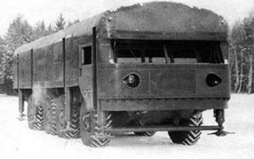 Мобильный бункер на колесах, умеющий самостоятельно выбраться из-под земли