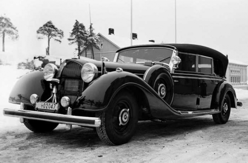 Які «фішки» були на машині фюрера Третього рейху Адольфа Гітлера