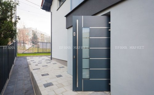 Почему алюминиевые входные двери Wisniowski DECO выбирают владельцы коттеджей и таунхаусов в Киеве, рассказывают представители brama-market.lviv.ua